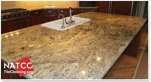 unsealed granite countertop