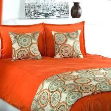 burnt orange bedding sets burnt orange duvet cover orange comforter set excellent orange comforter set queen