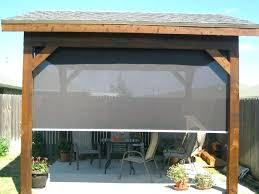 sunshade custom outdoor blinds
