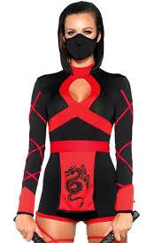 Ninja Suit Size Chart La 85401 Cosplay Dragon Ninja Romper Costume