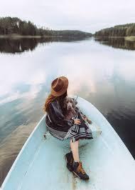 Girl in the boat
