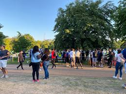 Horrifying video shows teen chased and attacked by gang. Armed Police Swarm Hyde Park As 3 Stabbed And 4 Arrested Over Violent Disorder In Area Packed With Sunseekers