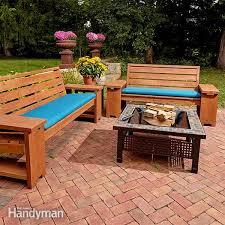 Diy patio table Bench Diy Patio Furniture Extrawellness Diy Patio Furniture Ideas Create Unique And Custom Look