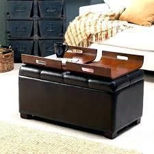 coffee table ottoman storage storage ottoman coffee table storage ottoman coffee table with trays coffee table