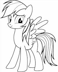 Small Picture My Rainbow Dash Colouring Pages Little Pony Rainbow Dash Coloring