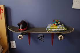 Image of: Skateboard Room Decor Wall Art