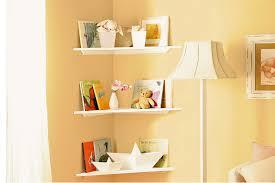 diy handyman install floating corner shelves