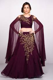 Designer Crop Top And Skirt Indias Largest Fashion Rental Service Sleeves Designs For