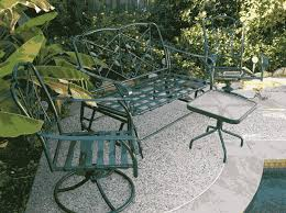 patio furniture restoration quality finishing inc will refinish your outdoor metal on powder coat patio