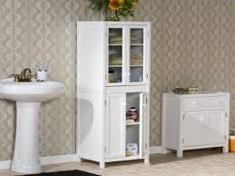 Bathroom High Cabinet White High Gloss Bathroom Wall Cabinets Rapnacionalinfo