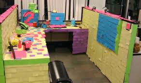 Office desk pranks ideas April Fools Outrageous Office Pranks Appleton Creative Outrageous Office Pranks Now Thats Nifty