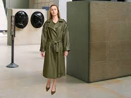 higgs leathers henriette petite fitting designer leather trench coats if only the very best