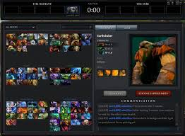 timer runs out in hero selection ap sd
