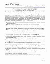Sample Resume For Business Analyst Entry Level Best Of Junior
