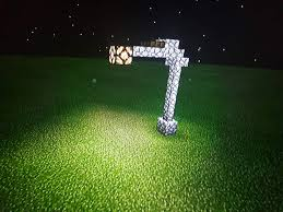 How To Make A Street Lamp In Minecraft Pe Lamp Design Ideas