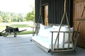 hanging porch bed swings hanging porch bed swing plans 7 amazing beds or swings in outdoor hanging porch bed swings