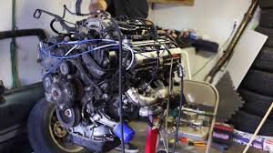 How to wire and start a 1UZFE on an engine stand. - YouTube