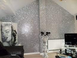 sample glitter wallpaper chunky