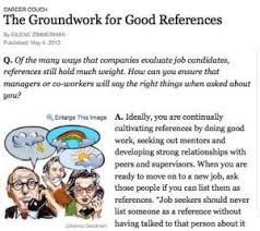 Good References For Jobs 7 Tips For Recruiting References For Jobs Internships And Graduate