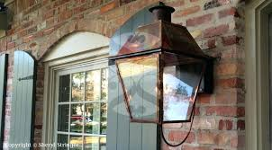 new orleans gas lanterns s style light with solid top in lights93
