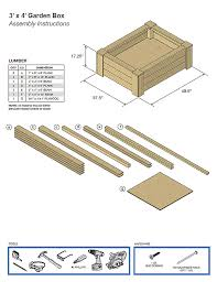 raised garden beds plans sample
