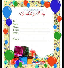 How To Create A Party Invitation Birthday Invitation Template Word Full Size Of Design Plus In