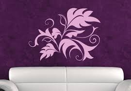 Small Picture Fern Abstract Wall Decal Great Floral Decor Ornament