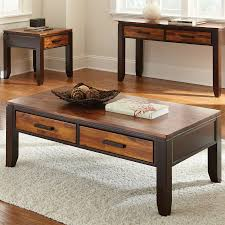 Steve Silver Company Abaco Acacia Coffee Table