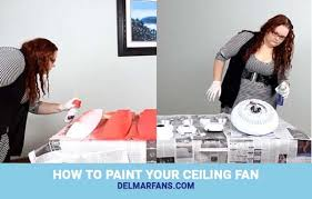 can you paint a ceiling fan how to