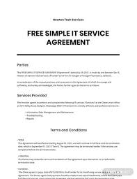 Contract templates are valuable to business owners because they can save them time and money. Free Service Agreement Templates Word Google Docs Apple Mac Pages Template Net