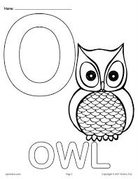 Print alphabet coloring pages for free and color our alphabet coloring! Letter O Alphabet Coloring Pages 3 Printable Versions Alphabet Coloring Pages Alphabet Coloring Letter O Worksheets