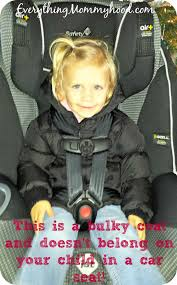 as you can see in the first image my daughter has on a bulky winter coat over her clothing in her car seat and you can see her straps are nice and