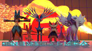 Gens 1-6 Pokemon Models (inc. Mega)! [3D DOWNLOAD] by TheModerator on  DeviantArt