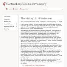 essay utilitarianism essay