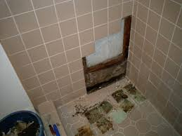 how to repair a shower stall