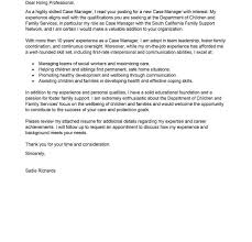 Example Resume Cover Letter Classy Coveretter For Social Work Job Services Examples Hospi Noiseworks Co