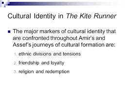 the shared study of paired texts ppt  cultural identity in the kite runner