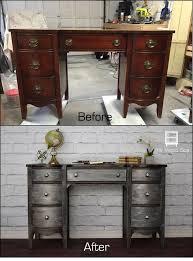 wooden desk ideas. people are loving this metallic furniture flip wooden desk ideas