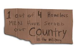 Image result for homeless veteran