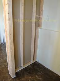 How To Build A Basement Closet Drywall Installation - Finish basement walls without drywall