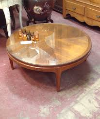 Tapered Coffee Table Legs Sold 295 Vintage Mid Century Modern Lane Round Coffee Table