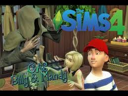 The Sims 4 Create a Sim : Grim Adventures of Billy & Mandy! - YouTube