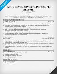Entry Level Marketing Resume Example Essaymafia Com