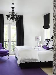 Black and Purple Bedrooms