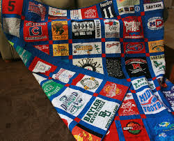 Custom Double Sided Tshirt Quilt with free shipping Deposit & 🔎zoom Adamdwight.com
