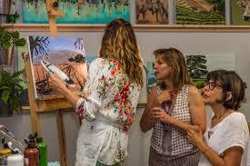 buellton art class santa ynez valley beginner painting watercolor class solvang buellton