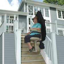 exterior stair chair lift. Interesting Lift Bruno Elite Outdoor Straight In Exterior Stair Chair Lift