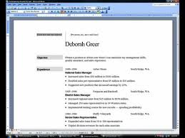 How To Make A Resume On Word Magnificent How To Word Resume Gallery Website How To Make A Resume On Microsoft