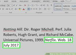 3 Ways To Cite A Movie Using Mla Style Wikihow