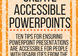 How To Create Accessible Powerpoints Paths To Technology Perkins